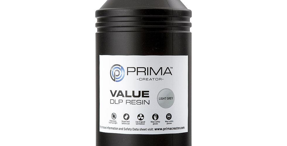 Смола PrimaCreator Value 1l Light Gray