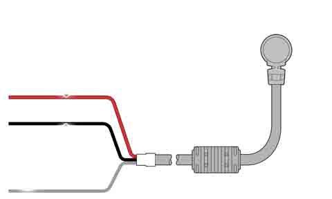Захранващ кабел ъглов за a series 1.5 m