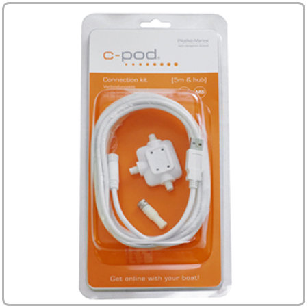 КИТ за добавяне на датчици (5m USB-M8 & HUB)