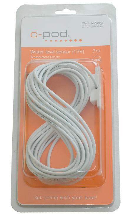 Датчик за нивото на водата, USB 7m / P1703-442