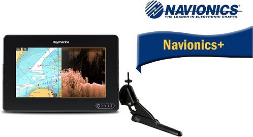 E70364-020N AXIOM 7DV с вграден сонар DownVision + CPT-100DVS + карта Nav+