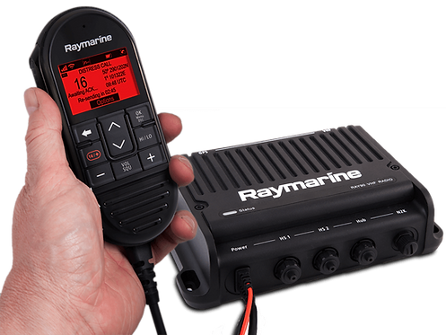 E70492 RAY90 VHF Двупостова Радиостанция BlackBox