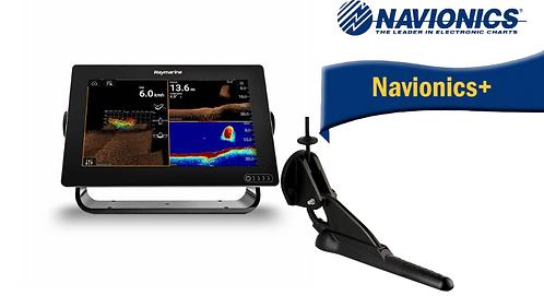 E70367-020N AXIOM 9RV с вграден Real Vision 3D сонар + CPT-100DVS + Nav+