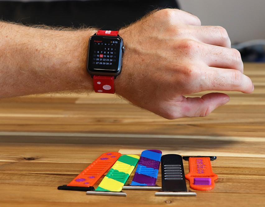 Разноцветни верижки за часовник