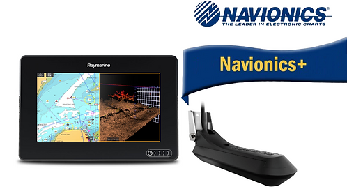 E70365-030N AXIOM 7RV с вграден Real Vision 3D сонар + RV-100 + карта Nav+
