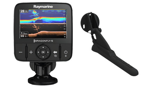 DR5 PRO CHIRP DownVision Сонар, GPS, WiFi, сонда без карта