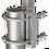 Thumbnail: 10102-003 Стойка N220F/N298F (Ø 25 MM) INOX за монтаж на мачта / ле