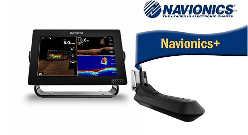 E70367-030N AXIOM 9RV с вграден Real Vision 3D сонар + RV-100 + карта Nav+