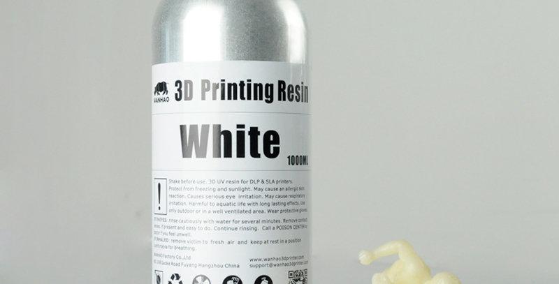 Смола Wanhao Water Washable 0.5l White