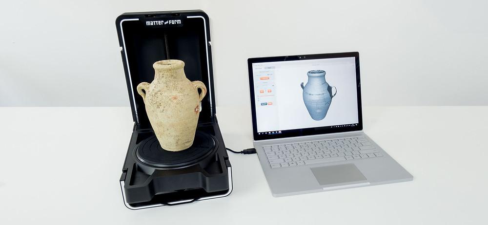 3D сканиране на артефакти