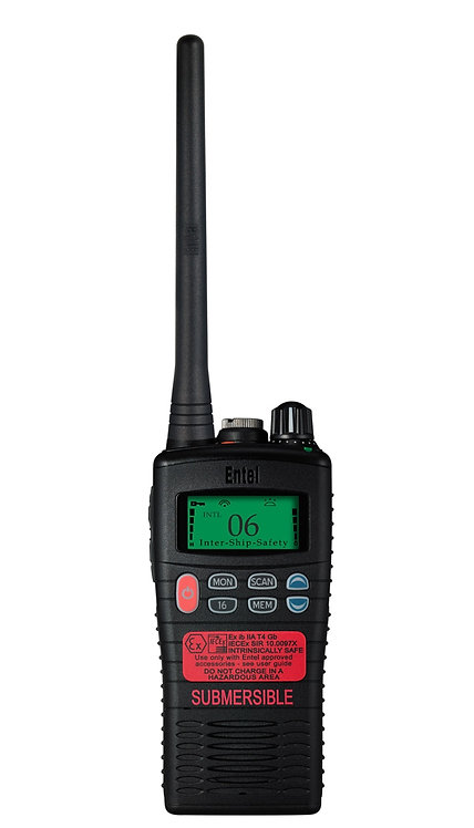 ENTEL HT944 LCD VHF ATEX IIC Intrinsically Safe