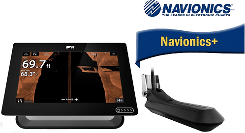 E70369-030N AXIOM+ 12RV с вграден Real Vision 3D сонар + RV-100 + карта N