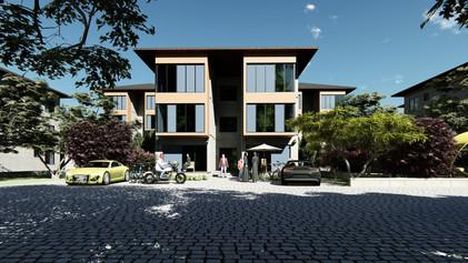 220 units apartments Ankara