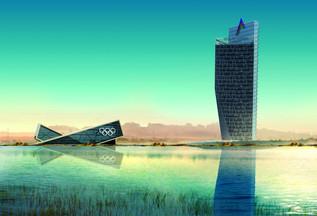 Ministry of Sport Building Azerbaijan