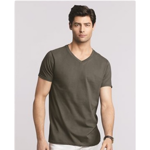 T-shirt Gildan Softstyle® Col en « V » 64V00
