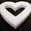 Styrofoam Heart, 12 inch heart shape. Valentines day wreath.