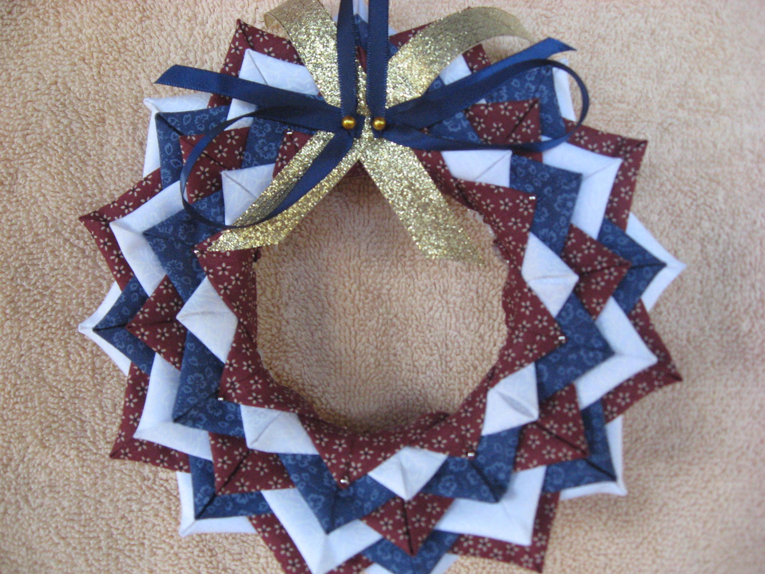 Christmas Crafts Ribbon Wreath