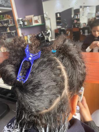 couleur cheveux afro