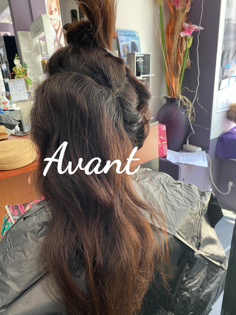 Ombré hair-salon eden secret'