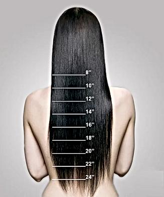 longueur des cheveux