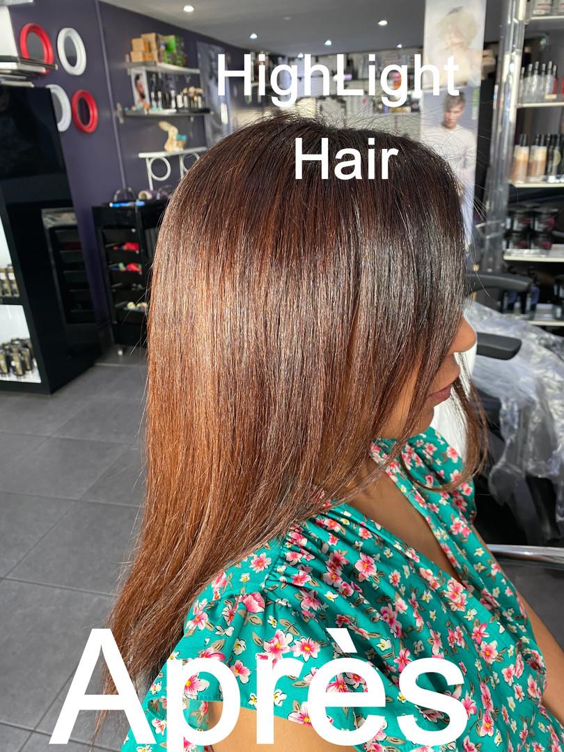 highlight Ombré hair-salon