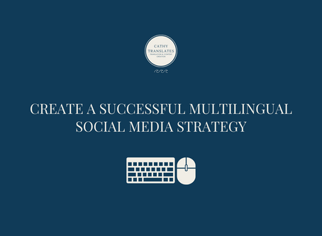 Creating a Successful Multilingual Social Media Marketing Plan