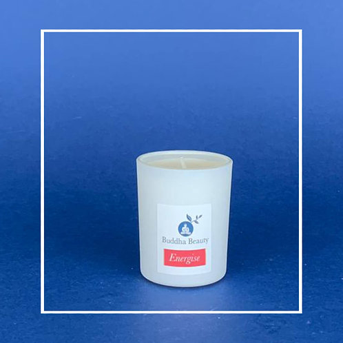 Energise - Zesty Raspberry Votive Candle 9cl
