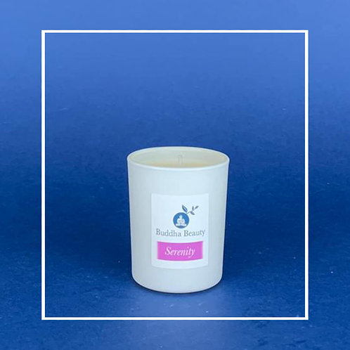 Serenity - Rose Geranium Votive Candle 9cl