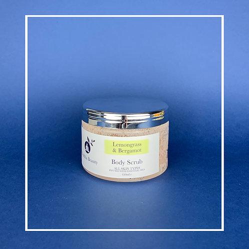 Lemongrass & Bergamot Sea Salt Body Scrub
