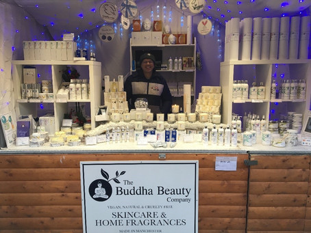 Buddha Beauty Are At The Manchester Christmas Markets!