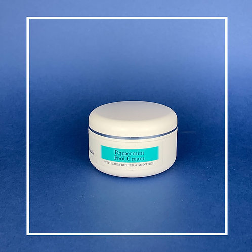 Peppermint Foot Cream With Cooling Action.