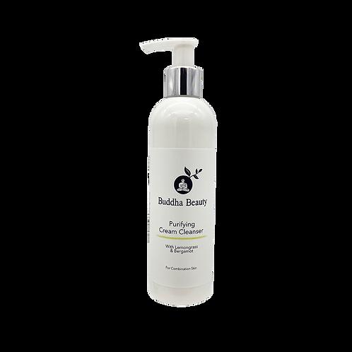 Lemongrass and Bergamot Facial Cream Cleanser
