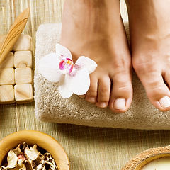 buddha beauty Male pedicure chorlton man
