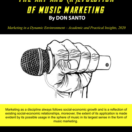 Scientific Paper | The Art and (R)Evolution of Music Marketing (Pdf)