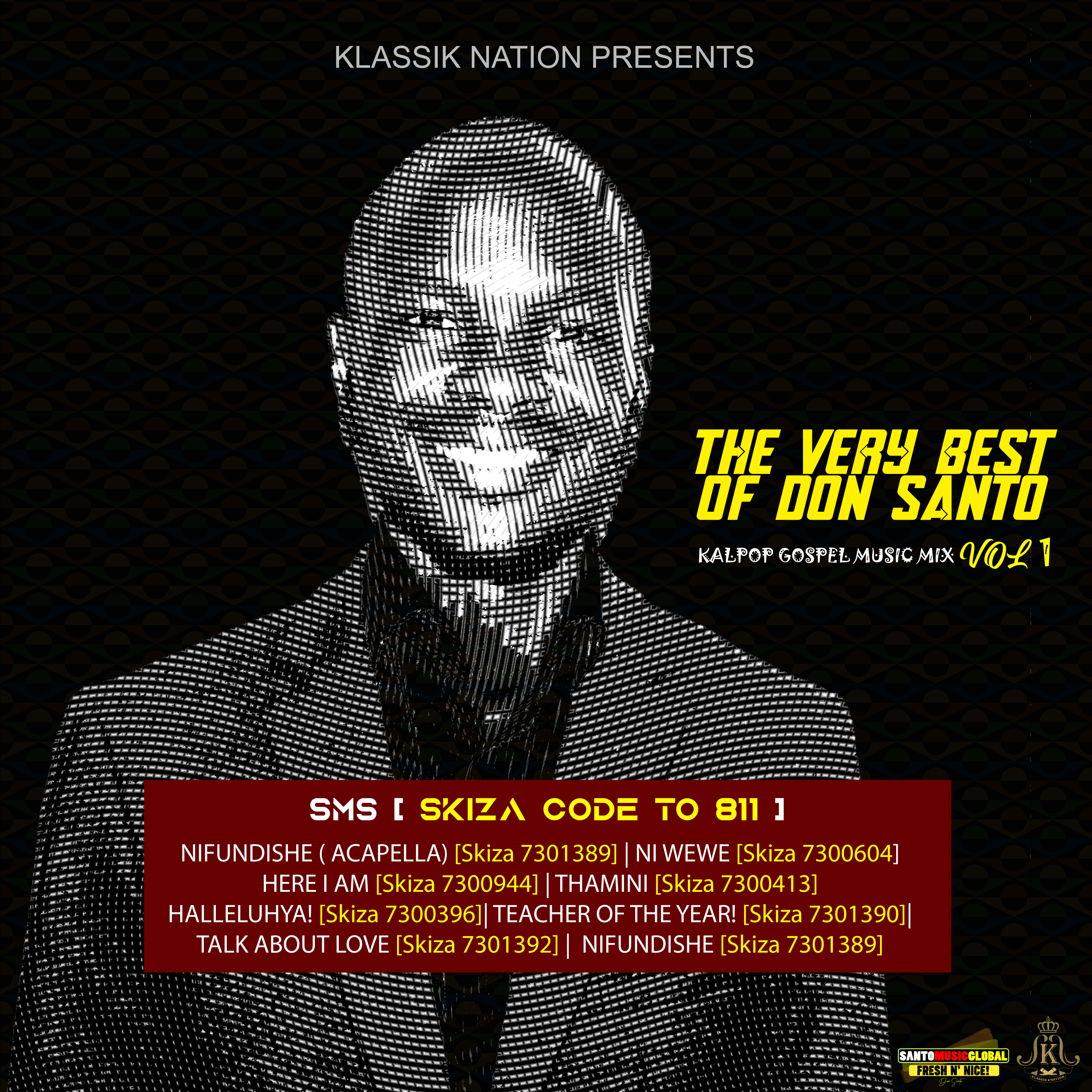 THE VERY BEST OF DON SANTO VOL 1 (Praise & Worship)