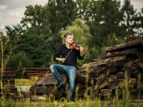 Mozart med Henning Kraggerud - rett hjem i stua
