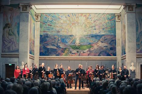 Det Norske Kammerorkester i Universitetets Aula