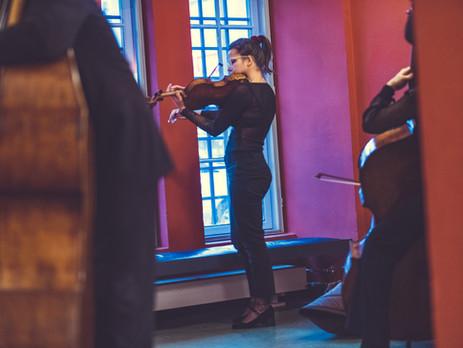 Prøvespill til veiviserprogrammet i Kammerorkesteret