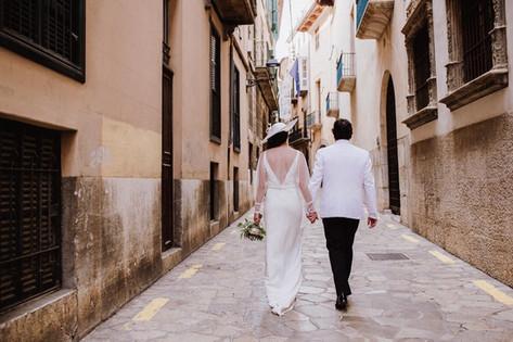 Julie's Spain wedding
