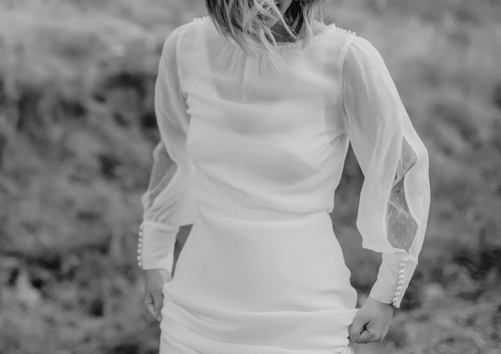 Serafina gown x Kinglsey top