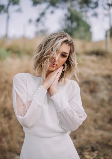 Serafina gown x Kinsley top