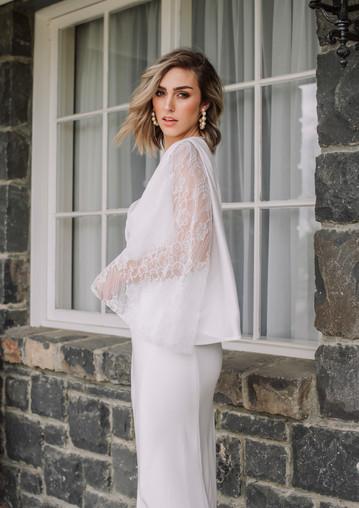 Serafina gown x Farrah top