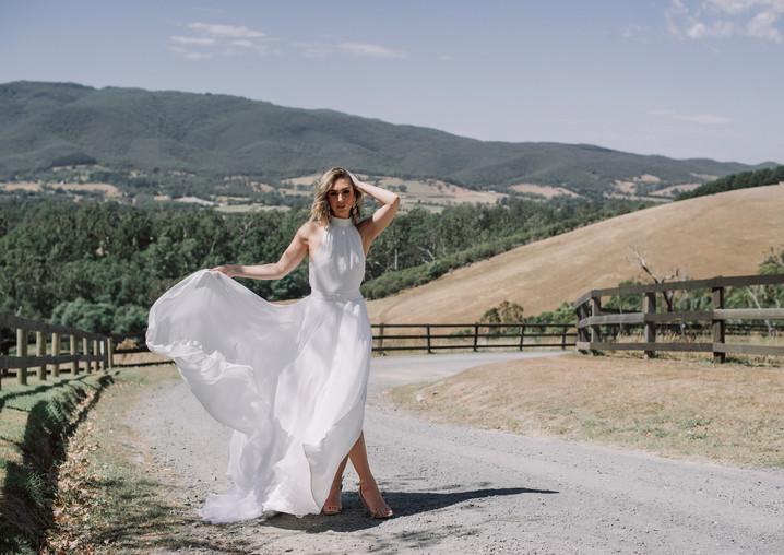 Ella gown x Millie skirt