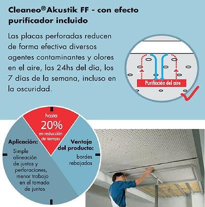 cleaneo akustik purificador de aire