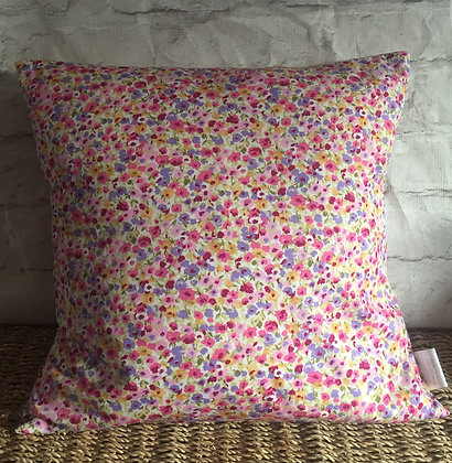 Ditsy floral cushion