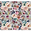 Thumbnail: Buttonpearl Fabric - Watercolour Floral on grey