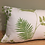 Thumbnail: Evergreen rectangular pompom cushion