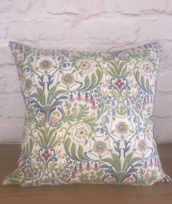 Botanical plant floral scatter cushion