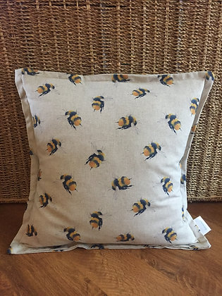 Bumblebee scatter cushion
