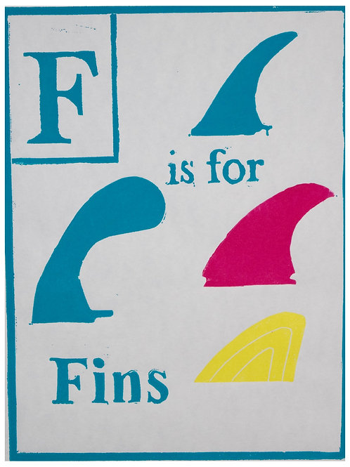 F is for Fins